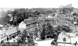 Beverley, North Bar From St Mary's Church c.1955