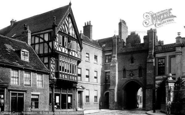 Beverley, North Bar Without 1886