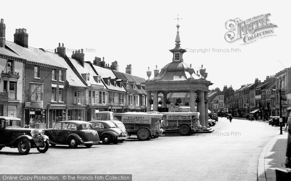 Beverley, Saturday Market c.1955