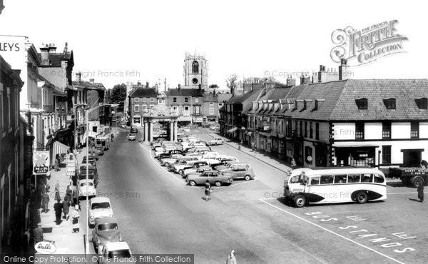 Beverley, Saturday Market c1965