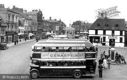 Saturday Market Place c.1955, Beverley