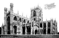 St Mary's Church 1886, Beverley