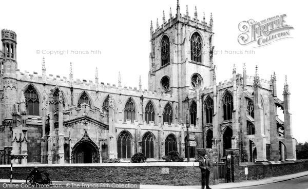Beverley, St Mary's Church c.1955