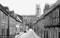 The Minster From Highgate c.1955, Beverley