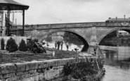 Bewdley, Boys Fishing On The Severn c.1938