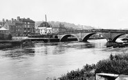 Bewdley, Bridge And River Severn 1931