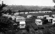 Bewdley, Caravan Site c.1965