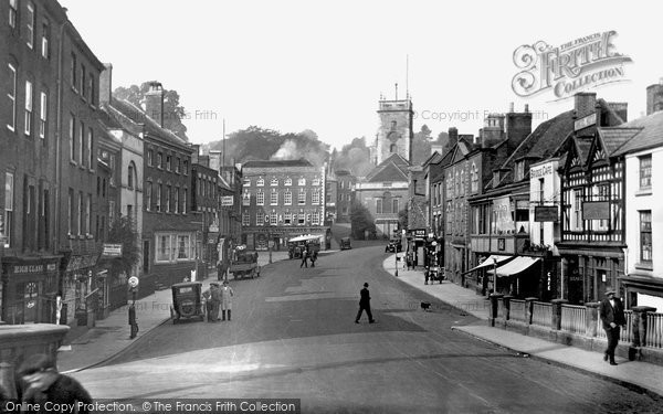 Photo of Bewdley, Load Street c.1938
