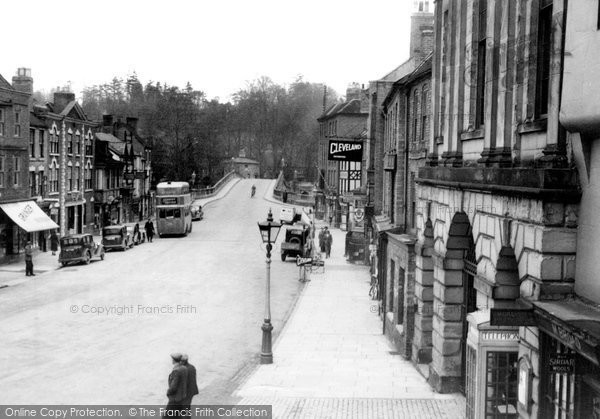 Photo of Bewdley, Load Street c.1950