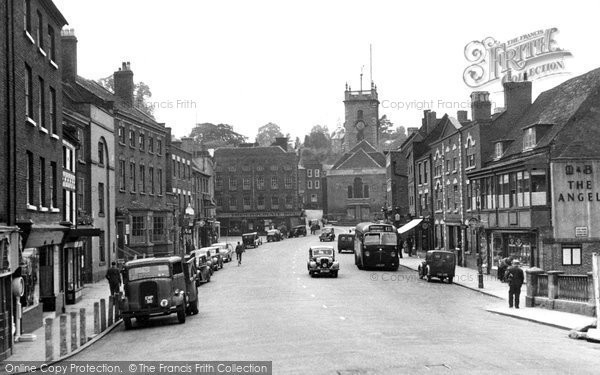 Photo of Bewdley, Load Street c.1950
