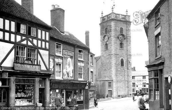 Photo of Bewdley, Load Street c.1955