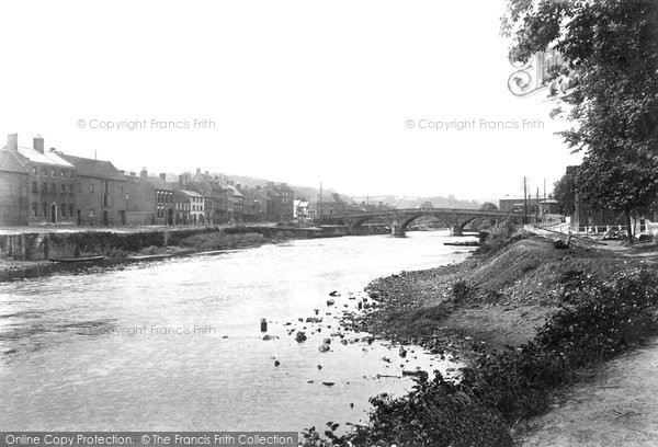 Bewdley, River Severn 1904