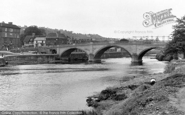 Bewdley, The Bridge 1950
