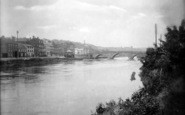 Bewdley, The Bridge And River Severn 1931