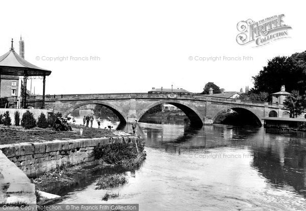 Bewdley, The Bridge c.1938