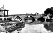 Bewdley, the Bridge c1940
