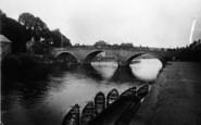 Bewdley, The Bridge c.1938