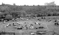 Bewdley, The Caravan Park c.1955