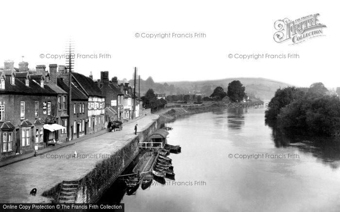 Bewdley, The River Severn c.1938