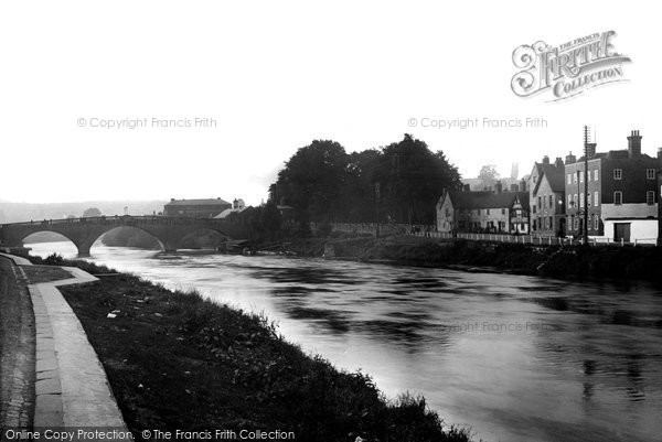 Photo of Bewdley, The River Severn c.1938