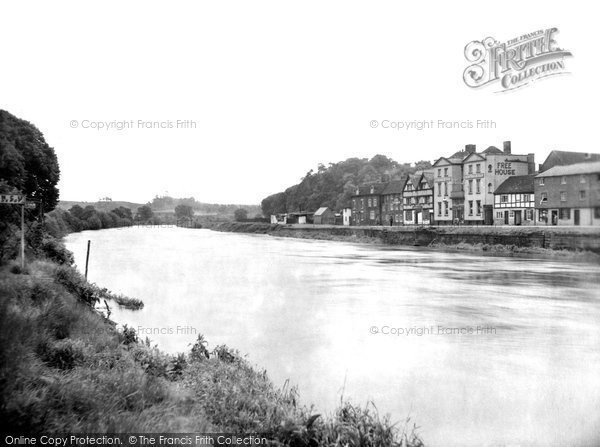 Photo of Bewdley, Thurston Hotel From The River Severn 1931