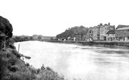 Bewdley, Thurston Hotel From The River Severn 1931