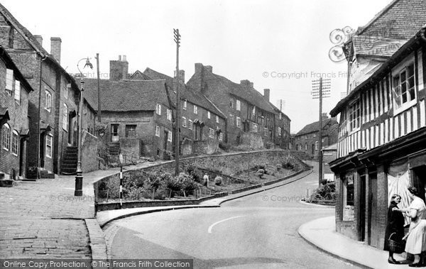 Photo of Bewdley, Welch Gate c.1955