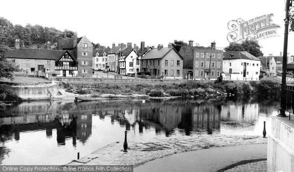 Photo of Bewdley, Wribbenhall c.1965