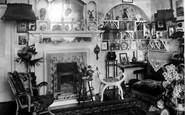 Bexhill, Convalescent Home, Matron's Room 1899