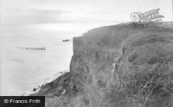 Bexhill, Cooden Cliff 1912