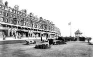 Bexhill, De La Warr Parade And Bandstand 1899