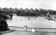 Bexhill, Egerton Park Lake 1927