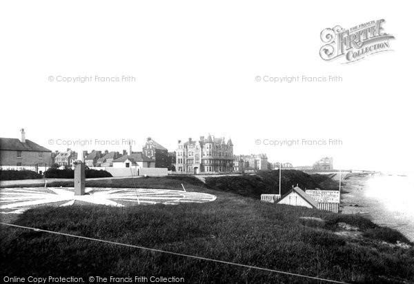 Bexhill, From Coast Guard Station 1891