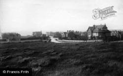 Bexhill, From Convalescent Home 1894