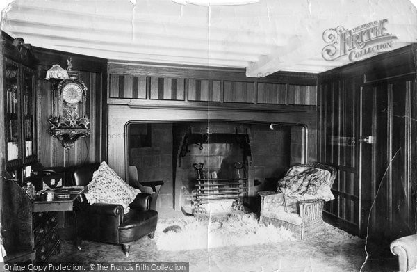 Bexhill, Manor House Interior 1892
