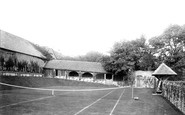 Bexhill, Manor House Tennis Court 1892