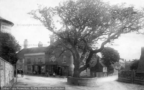 Bexhill, Old Town 1891