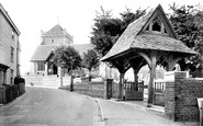 Bexhill, Old Town, St Peter's Parish Church 1921