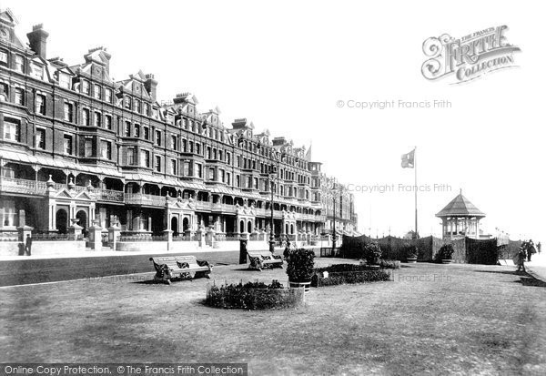 Bexhill On Sea, De La Warr Parade And Bandstand 1899
