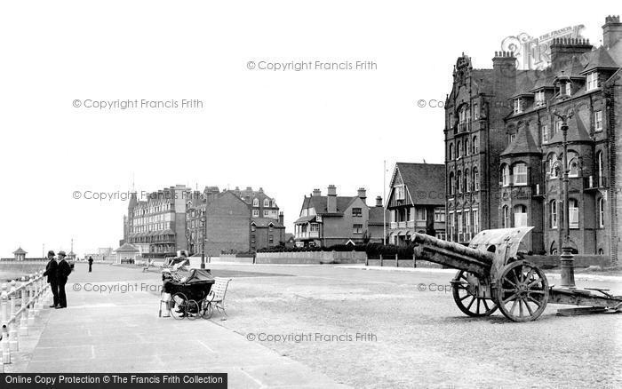 Bexhill On Sea, Delawarr Parade East 1921