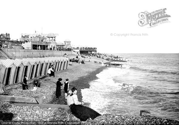 Bexhill On Sea, The Beach 1912