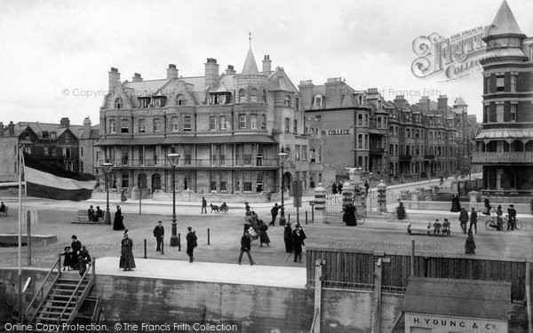 Bexhill On Sea, The Parade 1897