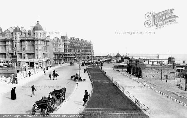 Bexhill, Parade 1903