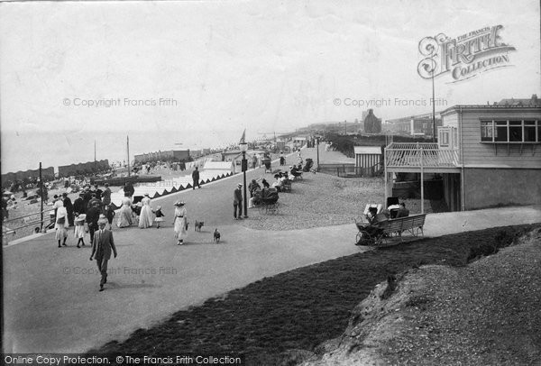 Bexhill, Parade 1910