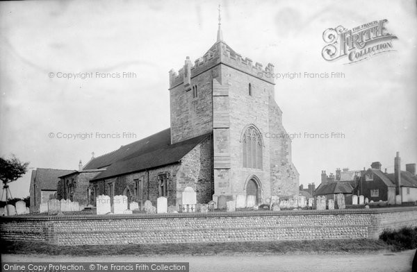 Bexhill, Parish Church Of St Peter 1891