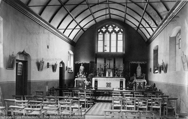Bexhill, R C Chapel Interior 1896