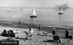 Bexhill, Sailing c.1960