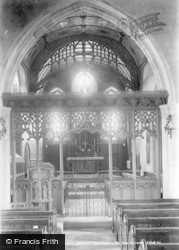 Bexhill, St Peter's Church, The Screen 1903