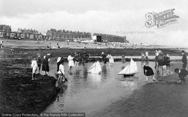 Photo of Bexhill, The Beach 1910