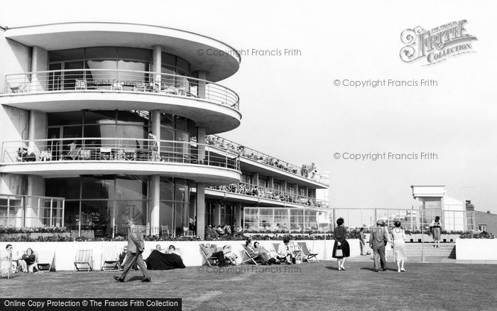 Photo of Bexhill, The De La Warr Pavilion c.1965